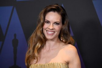 HOLLYWOOD, CA - NOVEMBER 18:  Hilary Swank attends the Academy of Motion Picture Arts and Sciences' 10th annual Governors Awards at The Ray Dolby Ballroom at Hollywood & Highland Center on November 18, 2018 in Hollywood, California.  (Photo by Steve Granitz/WireImage)