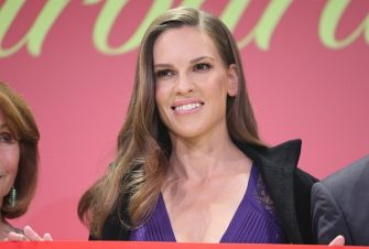MUNICH, GERMANY - DECEMBER 02:  Hilary Swank during the Mon Cheri Barbara Tag at Postpalast on December 2, 2016 in Munich, Germany.  (Photo by A. Palmberger/WireImage)