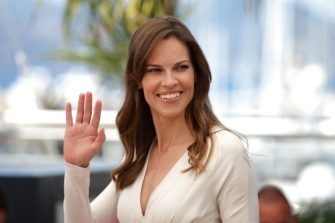 """CANNES, FRANCE - MAY 18:  Actress Hilary Swank attends """"The Homesman"""" photocall during the 67th Annual Cannes Film Festival on May 18, 2014 in Cannes, France.  (Photo by Neilson Barnard/Getty Images)"""