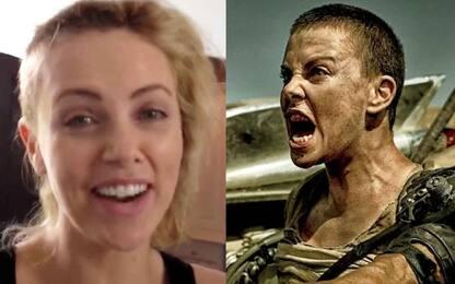 Charlize Theron, il video di quando si è rasata per Mad Max: Fury Road