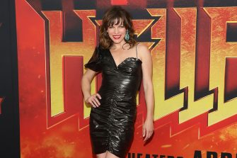 """NEW YORK, NY - APRIL 09:  Milla Jovovich attends the New York premiere of """"Hellboy"""" at AMC Lincoln Square Theater on April 9, 2019 in New York City.  (Photo by Taylor Hill/WireImage)"""