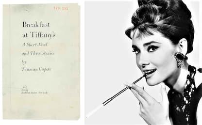 Colazione da Tiffany: il manoscritto va all'asta
