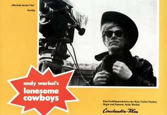 Kino. Lonesome Cowboys, Andy Warhol's Lonesome Cowboys, Lonesome Cowboys, Andy Warhol's Lonesome Cowboys, Andy Warhol, 1968. (Photo by FilmPublicityArchive/United Archives via Getty Images)