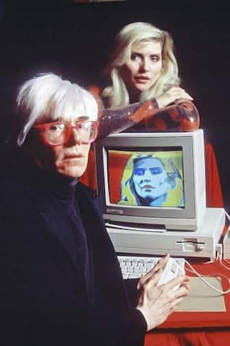 Andy Warhol, Milan, January 1987. (Photo by Leonardo Cendamo/Getty Images)