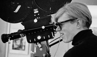 NEW YORK - OCTOBER 5:  Andy Warhol filming on October 5, 1968 in New York, New York. (Photo by Santi Visalli/Getty Images)