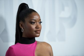 """LOS ANGELES, CA - NOVEMBER 07: Keke Palmer arrives at the premiere of Vertical Entertainment's """"Pimp"""" at Pacific Theatres at The Grove on November 7, 2018 in Los Angeles, California. (Photo by Morgan Lieberman/Getty Images)"""