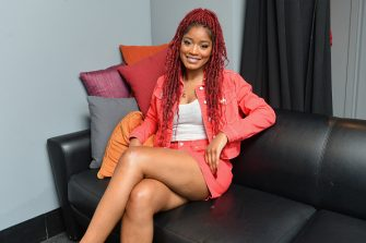 NEW YORK, NY - APRIL 15:  Host Keke Palmer poses backstage during the 10th Annual Shorty Awards at PlayStation Theater on April 15, 2018 in New York City.  (Photo by Noam Galai/Getty Images for Shorty Awards)