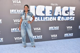 """Actress Keke Palmer attends the screening of """"Ice Age: Collision Course"""" at Zanuck Theater at 20th Century Fox Lot on July 16, 2016 in Los Angeles, California."""