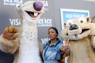 """LOS ANGELES, CA - JULY 16:  Keke Palmer attends a screening of """"Ice Age: Collision Course"""" at Zanuck Theater at 20th Century Fox Lot on July 16, 2016 in Los Angeles, California.  (Photo by Araya Diaz/WireImage)"""