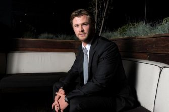BEVERLY HILLS, CA - MAY 13:  Actor Chris Hemsworth poses during Australians In Film's 2010 Breakthrough Awards held at Thompson Beverly Hills on May 13, 2010 in Beverly Hills, California.  (Photo by Charley Gallay/Getty Images for AIF)