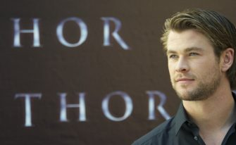 """MADRID, SPAIN - APRIL 14:  Actor Chris Hemsworth attends """"Thor"""" photocall at Hotel Santo Mauro on April 14, 2011 in Madrid, Spain.  (Photo by Carlos Alvarez/Getty Images)"""