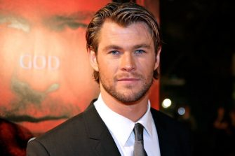 """SYDNEY, AUSTRALIA - APRIL 17:  Actor Chris Hemsworth  arrives at the World Premiere of """"Thor"""" at Event Cinemas George Street on April 17, 2011 in Sydney, Australia.  (Photo by Mike Flokis/WireImage)"""