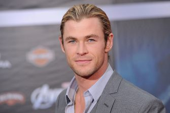 HOLLYWOOD, CA - APRIL 11:  Actor Chris Hemsworth arrives at the premiere of Marvel Studios' 'The Avengers' at the El Capitan Theatre on April 11, 2012 in Hollywood, California.  (Photo by Jason Merritt/Getty Images)