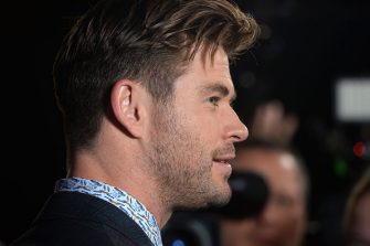 """LONDON, ENGLAND - APRIL 10: Chris Hemsworth attends the """"Avengers Endgame"""" UK Fan Event at Picturehouse Central on April 10, 2019 in London, England. (Photo by Dave J Hogan/Dave J Hogan/Getty Images)"""