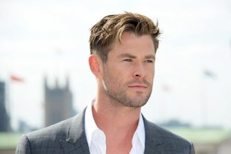 """LONDON, ENGLAND - APRIL 11:  Chris Hemsworth attends the """"Avengers Endgame"""" photocall at Corinthia London on April 11, 2019 in London, England.  (Photo by David M. Benett/Dave Benett/WireImage)"""