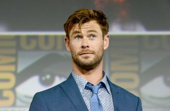 SAN DIEGO, CALIFORNIA - JULY 20: Chris Hemsworth speaks at the Marvel Studios Panel during 2019 Comic-Con International at San Diego Convention Center on July 20, 2019 in San Diego, California. (Photo by Albert L. Ortega/Getty Images)