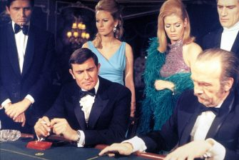 JAMES BOND - ON HER MAJESTY'S SECRET SERVICE George Lazenby, casino Ref: AW Supplied by Capital Pictures *Film Still - Editorial Use Only* Tel: +44 (0)20 7253 1122 www.capitalpictures.com sales@capitalpictures.com (F/SD010)