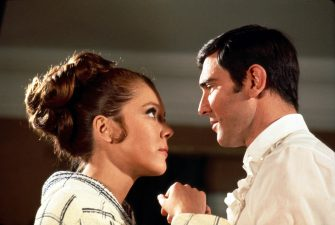 JAMES BOND - ON HER MAJESTY'S SECRET SERVICE Diana Rigg, George Lazenby Ref: AW Supplied by Capital Pictures *Film Still - Editorial Use Only* Tel: +44 (0)20 7253 1122 www.capitalpictures.com sales@capitalpictures.com (F/SD010)