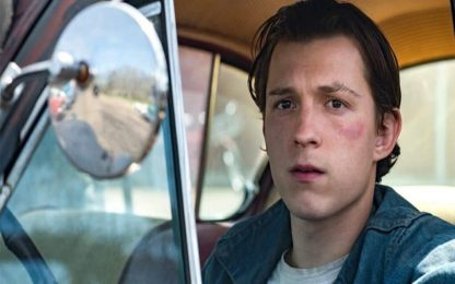 Le strade del male, il trailer del film con Tom Holland