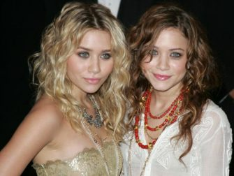 Ashley Olsen and Mary Kate Olsen at the The Metropolitan Museum of Art in New York City, New York (Photo by James Devaney/WireImage)