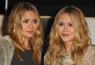 """WESTWOOD, CA - NOVEMBER 12: Ashley Olsen and Mary Kate Olsen  Mary Kate and Ashley Olsen signing their book """"Influence"""" at Borders on November 12, 2008 in Westwood, California. (Photo by Steve Granitz/WireImage)"""