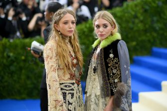 """NEW YORK, NY - MAY 01: Mary-Kate and Ashley Olsen attends the """"Rei Kawakubo/Comme des Garcons: Art Of The In-Between"""" Costume Institute Gala at Metropolitan Museum of Art on May 1, 2017 in New York City.  (Photo by Dimitrios Kambouris/Getty Images)"""