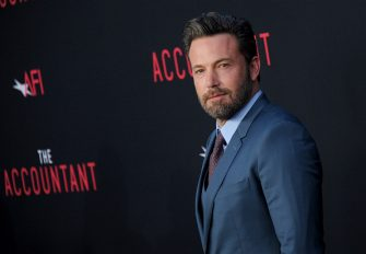 """HOLLYWOOD, CA - OCTOBER 10:  Actor Ben Affleck arrives at the premiere of Warner Bros Pictures' """"The Accountant"""" at TCL Chinese Theatre on October 10, 2016 in Hollywood, California.  (Photo by Gregg DeGuire/WireImage)"""