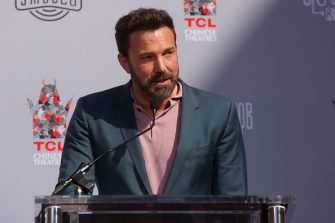 HOLLYWOOD, CALIFORNIA - OCTOBER 14: Ben Affleck attends Kevin Smith and Jason Mewes Hands and Footprint Ceremony at TCL Chinese Theatre on October 14, 2019 in Hollywood, California. (Photo by Gabriel Olsen/Getty Images)