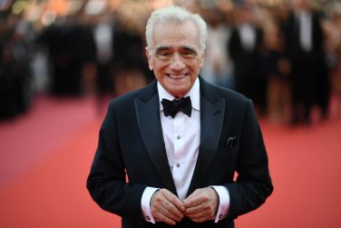 "TOPSHOT - US director Martin Scorsese poses on May 8, 2018 as he arrives for the screening of the film ""Todos Lo Saben (Everybody Knows)"" and the opening ceremony of the 71st edition of the Cannes Film Festival in Cannes, southern France. (Photo by LOIC VENANCE / AFP)        (Photo credit should read LOIC VENANCE/AFP via Getty Images)"