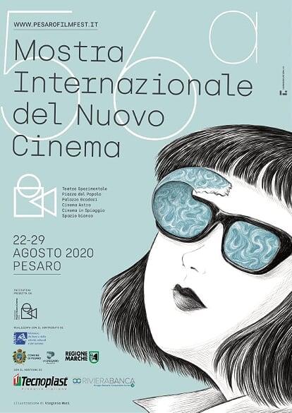 Il poster ufficiale della 56^ edizione della Mostra