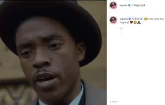Naomi Campbell Chadwick Boseman