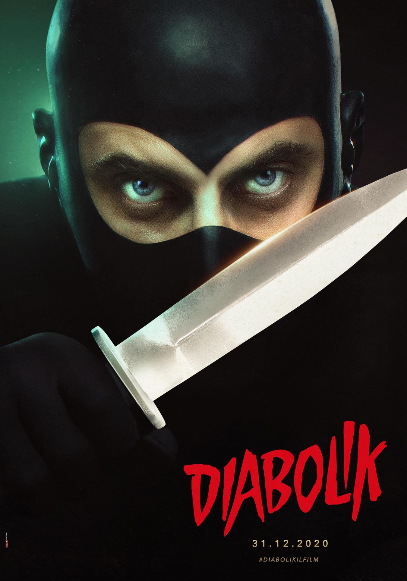 Diabolik character poster