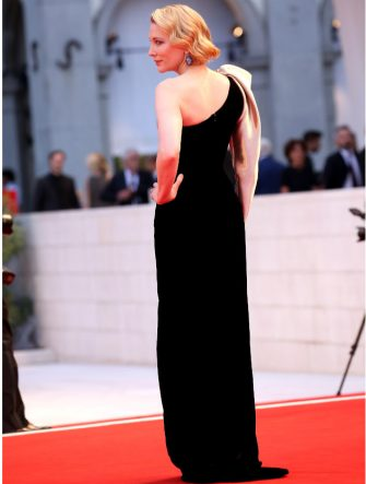 VENICE, ITALY - SEPTEMBER 01:  Cate Blanchett walks the red carpet ahead of the 'Suspiria' screening during the 75th Venice Film Festival at Sala Grande on September 1, 2018 in Venice, Italy.  (Photo by Franco Origlia/Getty Images)