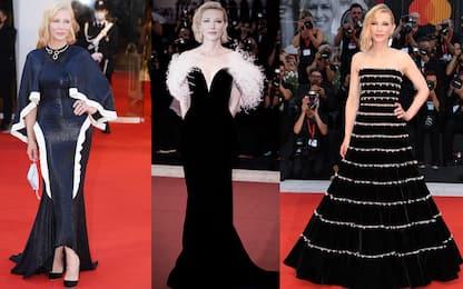 Festival di Venezia, tutti i look di Cate Blanchett sui red carpet