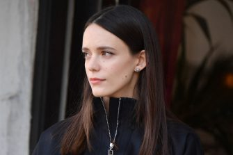 VENICE, ITALY - SEPTEMBER 03: Actress Stacy Martin is seen arriving at the 77th Venice Film Festival on September 03, 2020 in Venice, Italy. (Photo by Stephane Cardinale - Corbis/GC Images,)