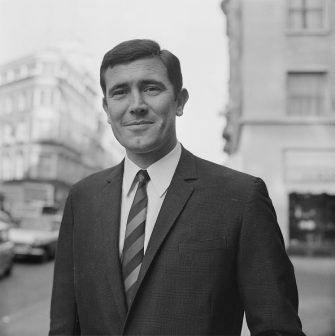 Australian actor and model George Lazenby, 29th January 1967. (Photo by Reg Burkett/Daily Express/Hulton Archive/Getty Images)