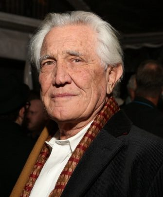 WEST HOLLYWOOD, CA - JANUARY 10:  George Lazenby attends The 4th Annual Unbridled Eve Derby Prelude Party at The London West Hollywood on January 10, 2013 in West Hollywood, California.  (Photo by Jesse Grant/WireImage)