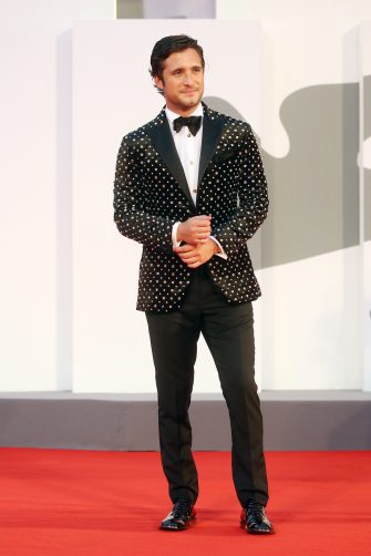 """VENICE, ITALY - SEPTEMBER 10: Diego Boneta walks the red carpet ahead of the movie """"Nuevo Orden"""" (New Order) at the 77th Venice Film Festival on September 10, 2020 in Venice, Italy. (Photo by Elisabetta Villa/Getty Images)"""