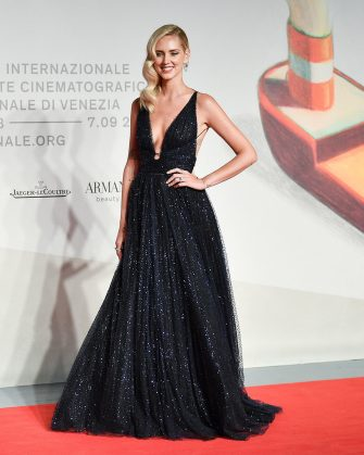 """VENICE, ITALY - SEPTEMBER 04: Chiara Ferragni walks the red carpet ahead of the """"Chiara Ferragni - Unposted"""" screening during the 76th Venice Film Festival at Sala Giardino on September 04, 2019 in Venice, Italy. (Photo by Jacopo Raule/Getty Images)"""