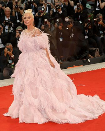 VENICE, ITALY - AUGUST 31:  Lady Gaga walks the red carpet ahead of the 'A Star Is Born' screening during the 75th Venice Film Festival at Sala Grande on August 31, 2018 in Venice, Italy.  (Photo by Elisabetta A. Villa/WireImage)