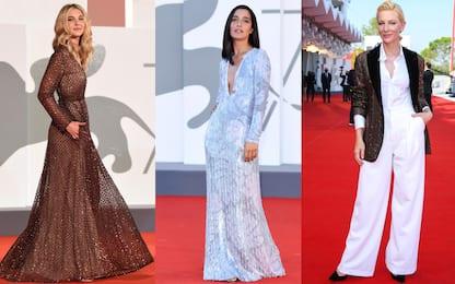 Venezia 2020, i look più belli sfoggiati sul red carpet del Festival