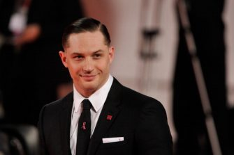 VENICE, ITALY - SEPTEMBER 02:  Actor Tom Hardy attends the 'Locke' Premiere during the 70th Venice International Film Festival at the Sala Darsena on September 2, 2013 in Venice, Italy.  (Photo by Gareth Cattermole/Getty Images)