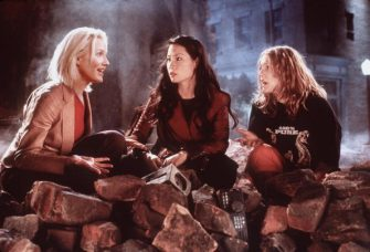 "381311 03: Cameron Diaz (Natalie), Lucy Liu (Alex) and Drew Barrymore (Dylan), left to right, star as a trio of elite private investigators in Columbia Pictures'' action-comedy, ""Charlie''s Angels."" (Photo by Columbia Pictures/Newsmakers)"