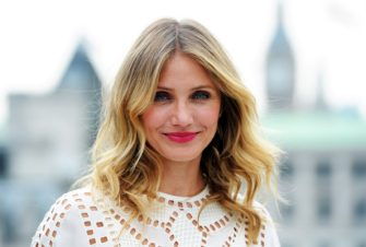 "LONDON, ENGLAND - SEPTEMBER 03:  Cameron Diaz attends a photocall for ""Sex Tape"" at Corinthia Hotel London on September 3, 2014 in London, England.  (Photo by Stuart C. Wilson/Getty Images)"
