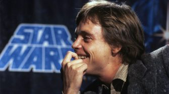 LONDON, ENGLAND - JANUARY 01:   Actor Mark Hamill, who plays Luke Skywalker in Star Wars, during a visit to London on January 1,1979 in London, England. (Photo by Anwar Hussein/Getty Images)