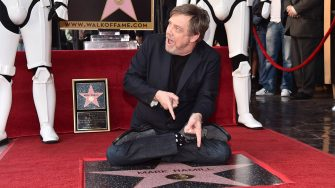 HOLLYWOOD, CA - MARCH 08:  Mark Hamill is honored with a star on the Hollywood Walk of Fame on March 8, 2018 in Hollywood, California.  (Photo by Alberto E. Rodriguez/Getty Images for Disney)