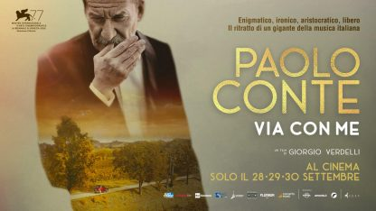 Via con me, da oggi al cinema il film sulla biografia di Paolo Conte