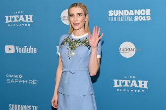 """PARK CITY, UT - JANUARY 26:  Emma Roberts attends the """"Paradise Hills"""" Premiere during the 2019 Sundance Film Festival at Library Center Theater on January 26, 2019 in Park City, Utah.  (Photo by Dia Dipasupil/Getty Images)"""