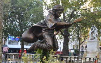 Harry Potter statua Londra