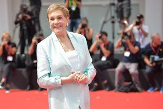 VENICE, ITALY - SEPTEMBER 02: Dame Julie Andrews arrives to be awarded the Golden Lion for Lifetime Achievement during the 76th Venice Film Festival at Sala Grande on September 02, 2019 in Venice, Italy. (Photo by Theo Wargo/Getty Images)